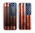 The Wooden Grungy American Flag Skin for the Apple iPhone 5c