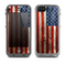 The Wooden Grungy American Flag Skin for the Apple iPhone 5c LifeProof Fre Case