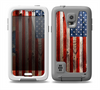 The Wooden Grungy American Flag Skin for the Samsung Galaxy S5 frē LifeProof Case