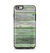 The Wooden Planks with Chipped Green Paint Apple iPhone 6 Plus Otterbox Symmetry Case Skin Set