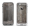 The Wooden Wall-Panel Apple iPhone 5-5s LifeProof Fre Case Skin Set