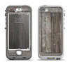 The Wooden Wall-Panel Apple iPhone 5-5s LifeProof Nuud Case Skin Set