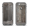 The Wooden Wall-Panel Apple iPhone 5c LifeProof Fre Case Skin Set
