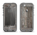 The Wooden Wall-Panel Apple iPhone 5c LifeProof Nuud Case Skin Set