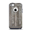 The Wooden Wall-Panel Apple iPhone 5c Otterbox Commuter Case Skin Set