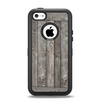 The Wooden Wall-Panel Apple iPhone 5c Otterbox Defender Case Skin Set