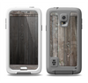The Wooden Wall-Panel Samsung Galaxy S5 LifeProof Fre Case Skin Set