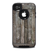 The Wooden Wall-Panel Skin for the iPhone 4-4s OtterBox Commuter Case