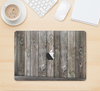 "The Wooden Wall-Panel Skin Kit for the 12"" Apple MacBook"