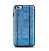 The Worn Blue Paint on Wooden Planks Apple iPhone 6 Plus Otterbox Symmetry Case Skin Set
