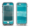 The Worn Blue Texture Apple iPhone 5-5s LifeProof Nuud Case Skin Set