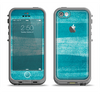 The Worn Blue Texture Apple iPhone 5c LifeProof Fre Case Skin Set