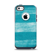 The Worn Blue Texture Apple iPhone 5c Otterbox Commuter Case Skin Set