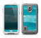 The Worn Blue Texture Samsung Galaxy S5 LifeProof Fre Case Skin Set