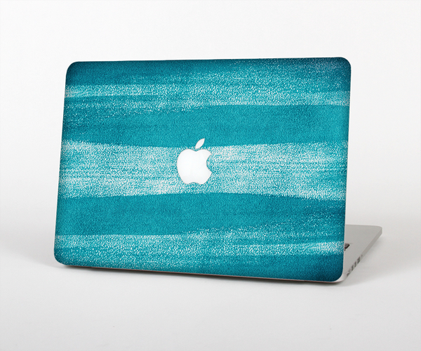 "The Worn Blue Texture Skin Set for the Apple MacBook Pro 13"" with Retina Display"