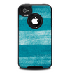 The Worn Blue Texture Skin for the iPhone 4-4s OtterBox Commuter Case