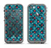 The Worn Dark Blue Checkered Starry Pattern Apple iPhone 5c LifeProof Fre Case Skin Set
