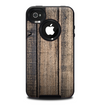 The Worn Planks of Wood Skin for the iPhone 4-4s OtterBox Commuter Case