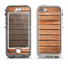 The Worn Wooden Panks Apple iPhone 5-5s LifeProof Nuud Case Skin Set