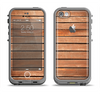 The Worn Wooden Panks Apple iPhone 5c LifeProof Fre Case Skin Set