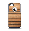 The Worn Wooden Panks Apple iPhone 5c Otterbox Commuter Case Skin Set