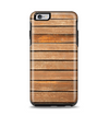 The Worn Wooden Panks Apple iPhone 6 Plus Otterbox Symmetry Case Skin Set