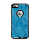 The Woven Blue Sharp Chevron Pattern V3 Apple iPhone 6 Plus Otterbox Defender Case Skin Set