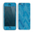 The Woven Blue Sharp Chevron Pattern V3 Skin for the Apple iPhone 5c