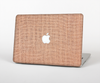 "The Woven Burlap Skin Set for the Apple MacBook Pro 15"" with Retina Display"