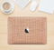 "The Woven Burlap Skin Kit for the 12"" Apple MacBook"