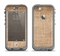 The Woven Fabric Over Aged Wood Apple iPhone 5c LifeProof Nuud Case Skin Set