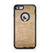 The Woven Fabric Over Aged Wood Apple iPhone 6 Plus Otterbox Defender Case Skin Set