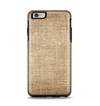 The Woven Fabric Over Aged Wood Apple iPhone 6 Plus Otterbox Symmetry Case Skin Set