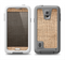 The Woven Fabric Over Aged Wood Samsung Galaxy S5 LifeProof Fre Case Skin Set