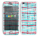 The Woven Trendy Green & Coral Skin for the Apple iPhone 5c