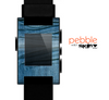 The Wrinkled Jean texture Skin for the Pebble SmartWatch