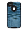 The Wrinkled Jean texture Skin for the iPhone 4-4s OtterBox Commuter Case
