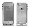 The Wrinkled Silver Surface Apple iPhone 5-5s LifeProof Fre Case Skin Set