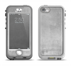The Wrinkled Silver Surface Apple iPhone 5-5s LifeProof Nuud Case Skin Set