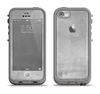 The Wrinkled Silver Surface Apple iPhone 5c LifeProof Fre Case Skin Set