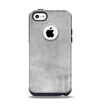 The Wrinkled Silver Surface Apple iPhone 5c Otterbox Commuter Case Skin Set