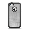 The Wrinkled Silver Surface Apple iPhone 5c Otterbox Defender Case Skin Set