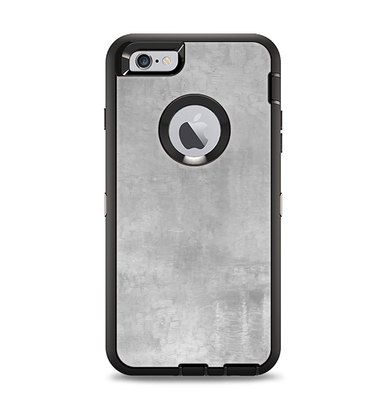 The Wrinkled Silver Surface Apple iPhone 6 Plus Otterbox Defender Case Skin Set
