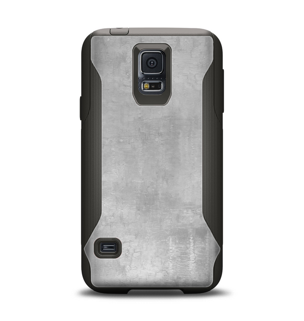 The Wrinkled Silver Surface Samsung Galaxy S5 Otterbox Commuter Case Skin Set