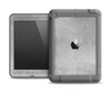 The Wrinkled Silver Surface Apple iPad Air LifeProof Fre Case Skin Set