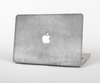 "The Wrinkled Silver Surface Skin Set for the Apple MacBook Pro 13"" with Retina Display"