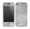 The Wrinkled Silver Surface Skin for the Apple iPhone 4-4s