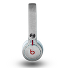 The Wrinkled Silver Surface Skin for the Beats by Dre Mixr Headphones