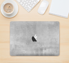 "The Wrinkled Silver Surface Skin Kit for the 12"" Apple MacBook"