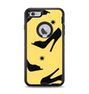 The Yellow & Black High-Heel Pattern V12 Apple iPhone 6 Plus Otterbox Defender Case Skin Set